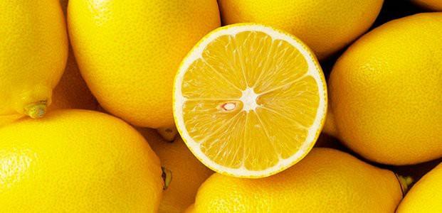 Лимон с тонкой кожурой