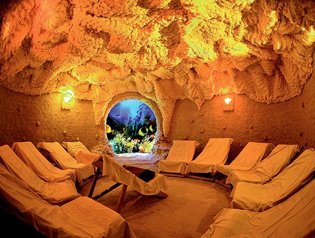Соляная комната— польза ивред для организма