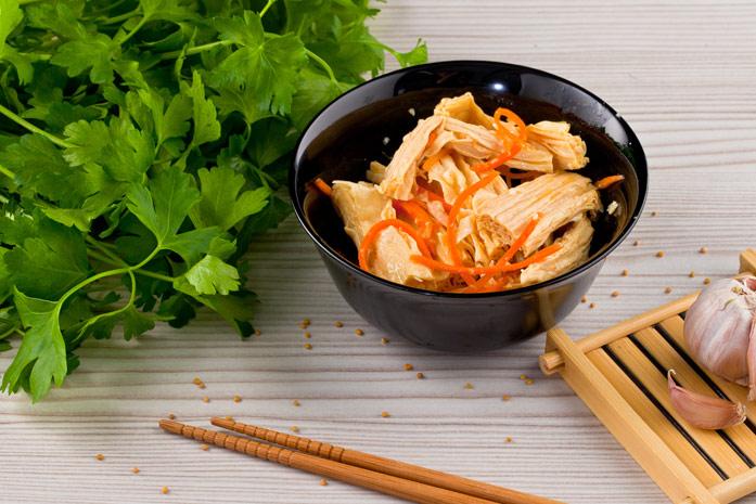 Польза ивред соевой спаржи по-корейски