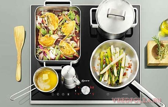 Индукционные плиты: вред для здоровья